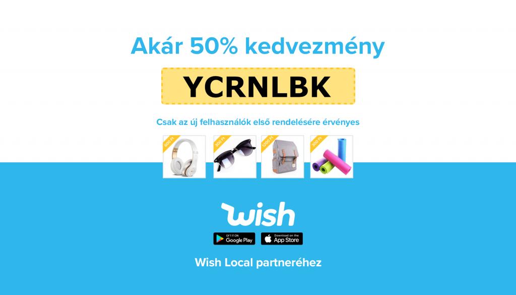 Hivatalos Wish partnerek lettünk