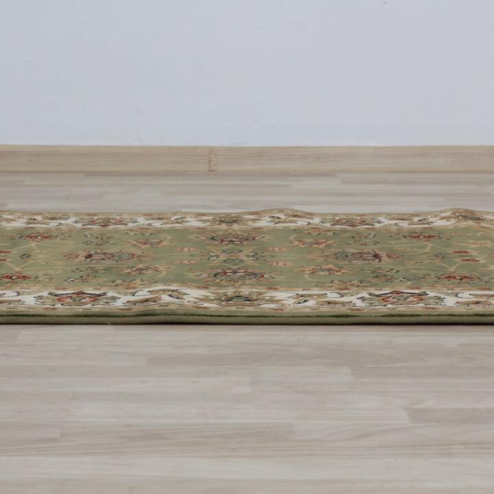 Szőnyeg, zöld/színek keveréke/minta, 133x190, KENDRA tip 2