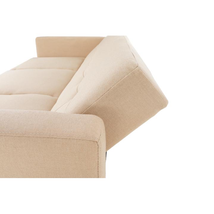 Kinyitható kanapé, bézs, ARKADIA