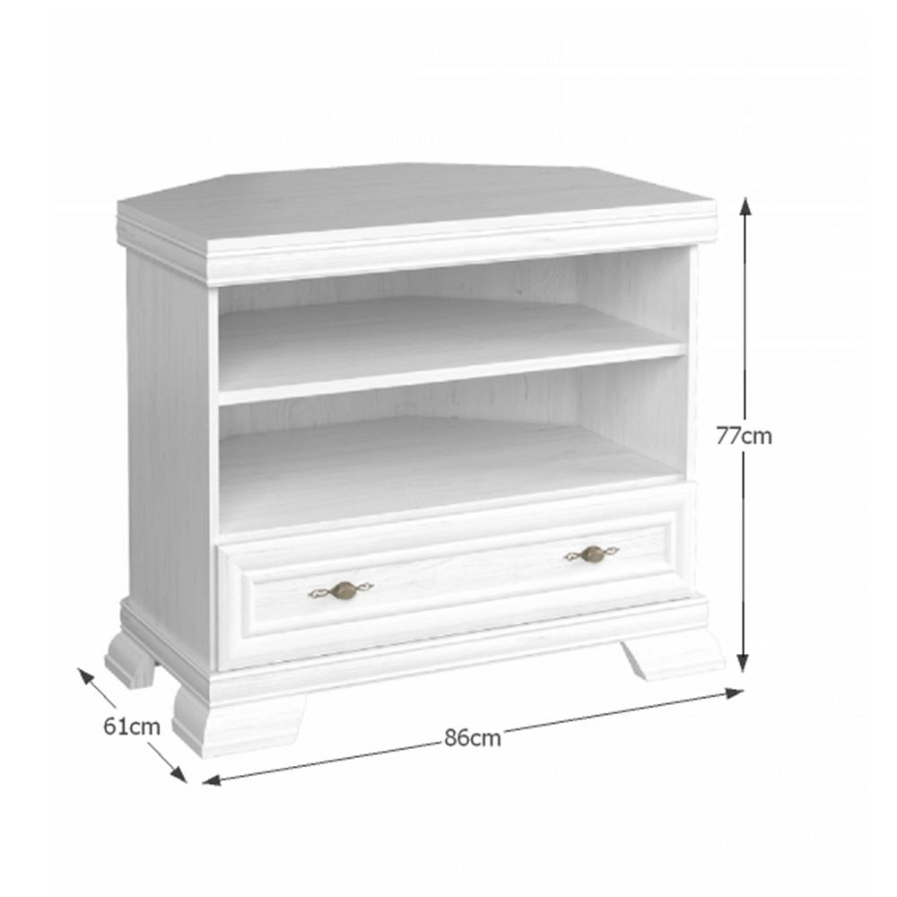 TV asztal/szekrény, sosna andersen, KORA KRTN
