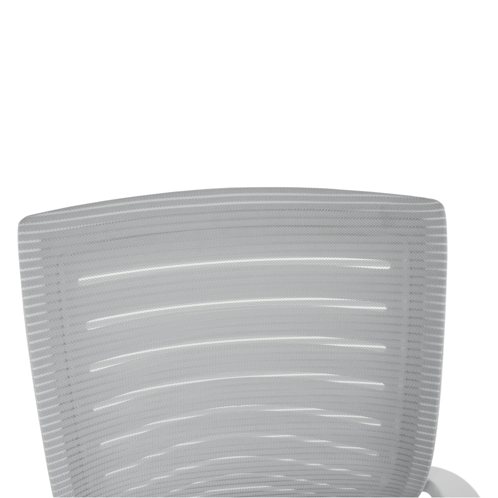 Irodai szék, fehér/szürke, CAGE