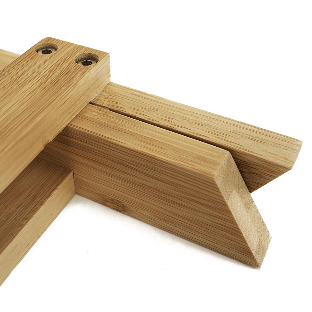 Szék, natúr bambusz, DENICE