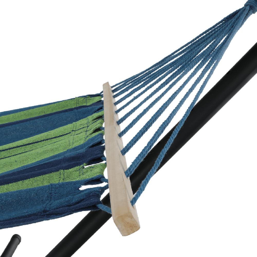 Függőágy, türkiz/kék/zöld, EVANA NEW - single