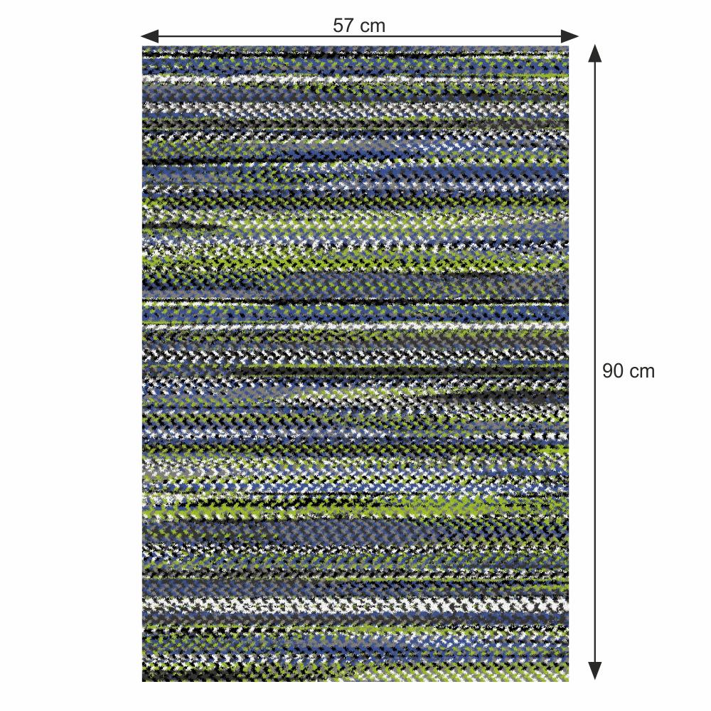 Szőnyeg, sokszínű, 57x90, FETEN