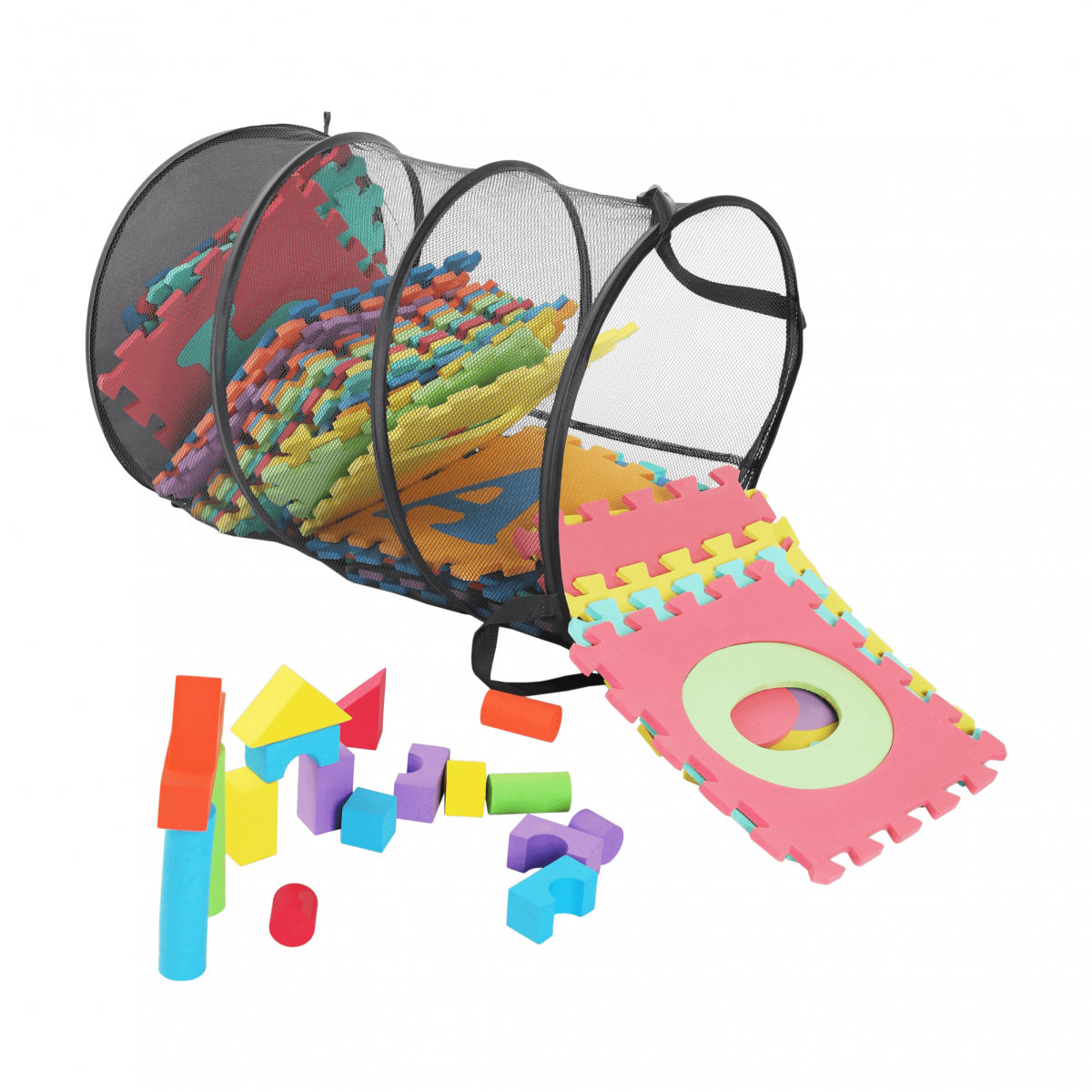 Szennyeskosár/Játékok, szürke, FOREL