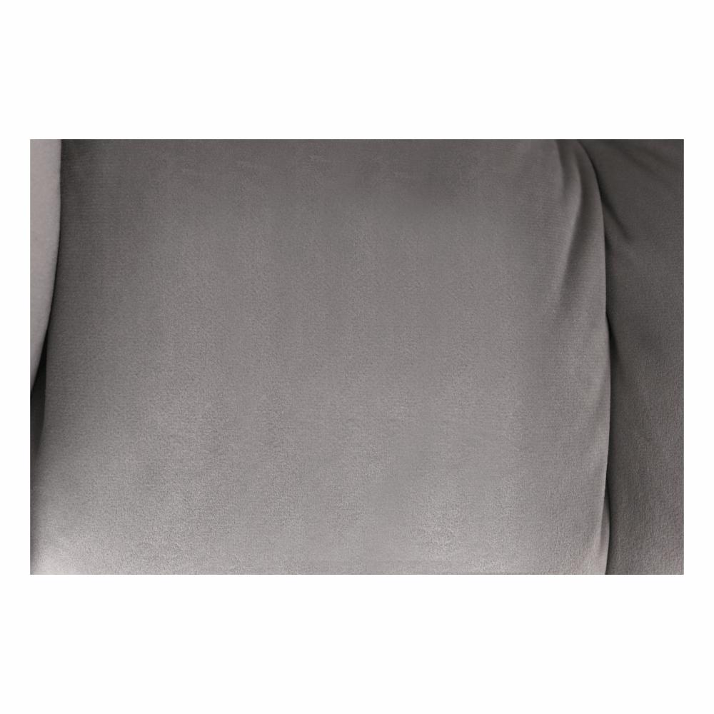 Irodai szék, szürke Velvet anyag/fekete, HAGRID