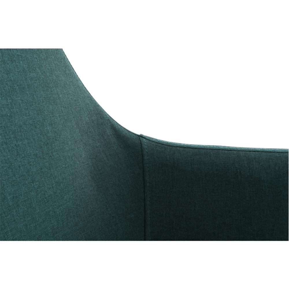 Étkező fotel, smaragd/fekete, DABIR