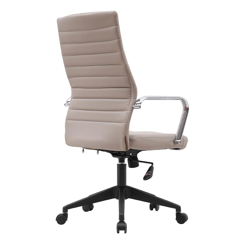 Irodai szék, szürkésbézs TAUPE/fekete, DRUGOS