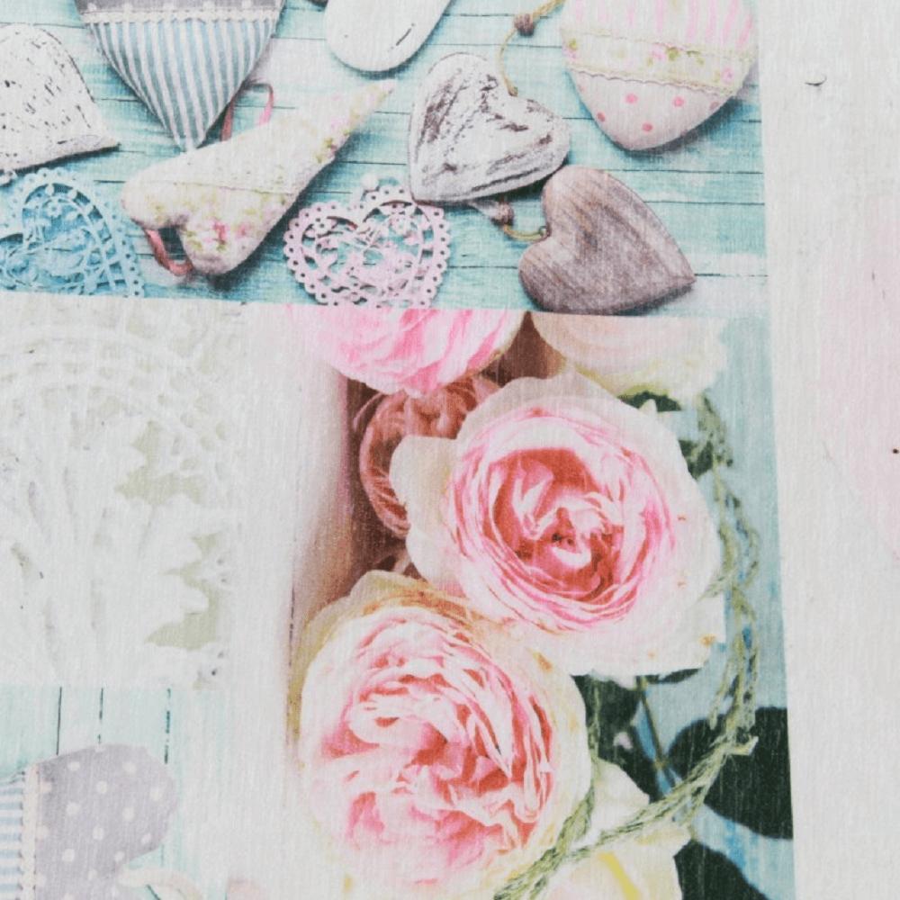 Szőnyeg, rózsaminta, többszínű, 80x150, SONIL tip 2