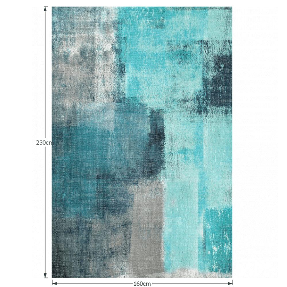 Szőnyeg, kék/szürke, 160x230, ESMARINA TIP 2