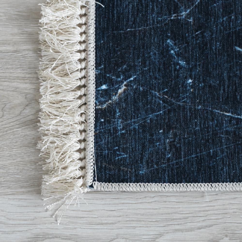 Szőnyeg, minta fekete márvány, 80x200, RENOX TYP 1