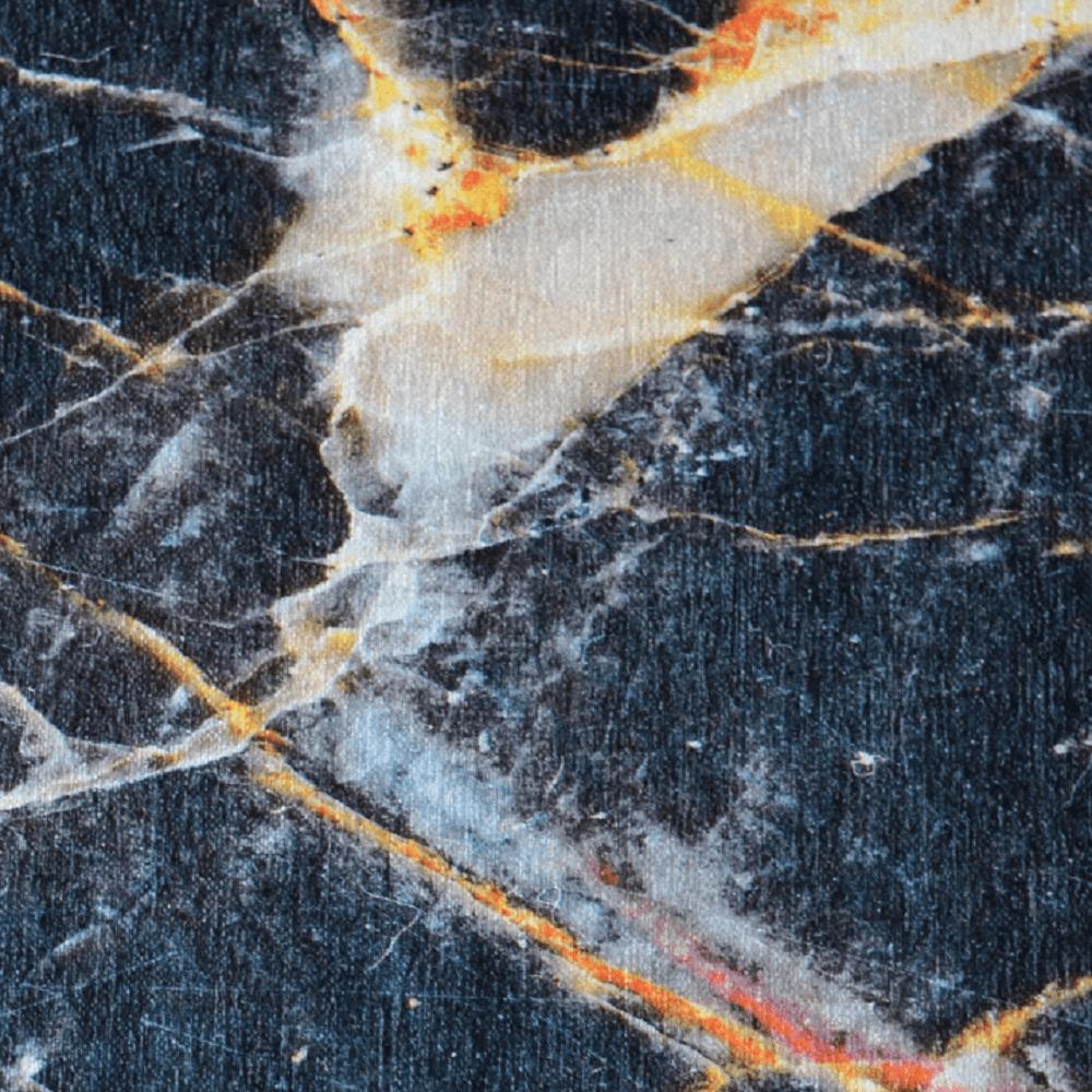 Szőnyeg, minta fekete márvány, 120x180, RENOX TYP 1