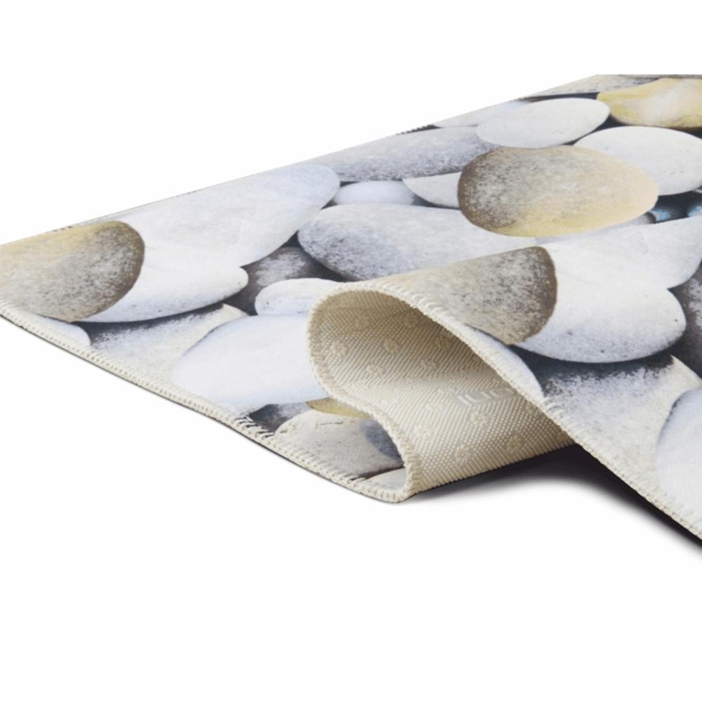 Szőnyeg, kő minta, többszínű, 160x230, BESS