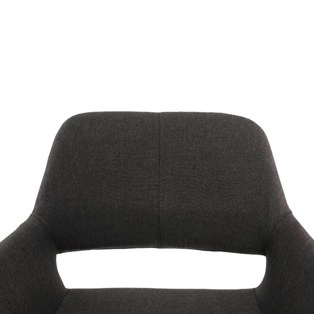 Dizájn fotel, sötétbarna/bükk, GODRIC
