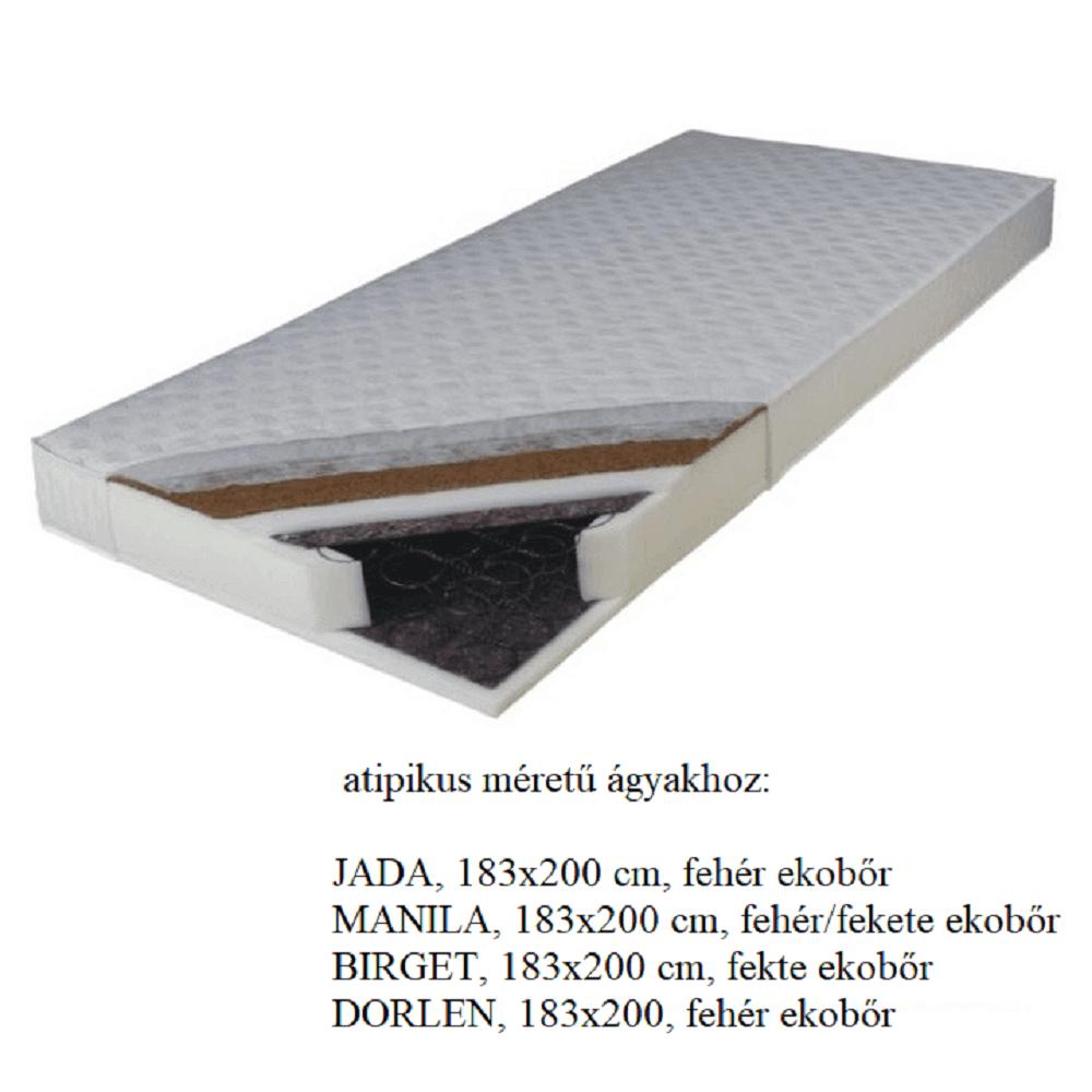 Matrac, rugós , 183x200, KOKOS MEDIUM Atip
