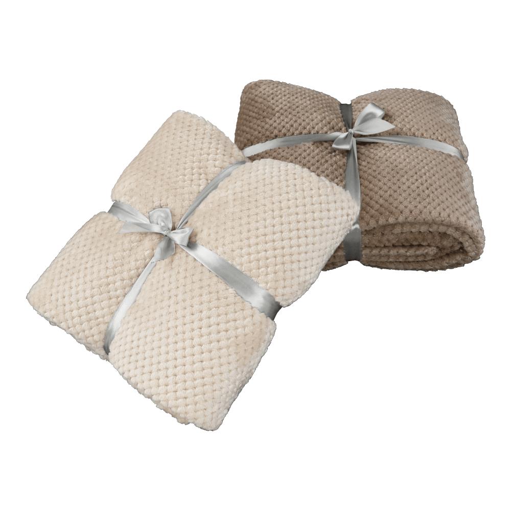 Kétoldalas takaró, bézses szürke, Defana típus 2