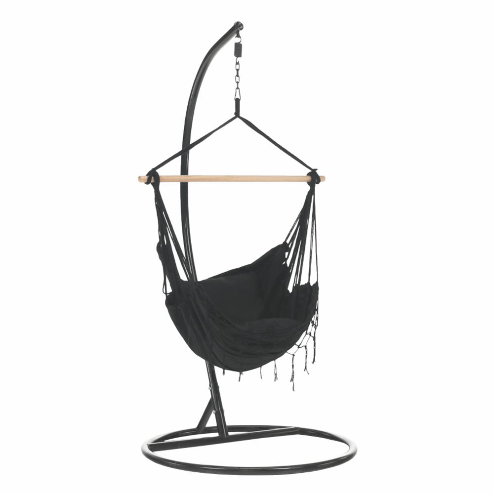 Függő fotel, sötétszürke, OFRAME