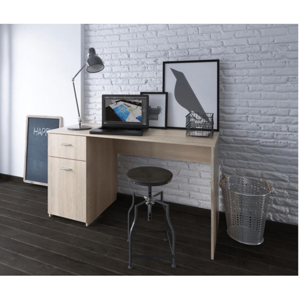 PC asztal, tölgy sonoma, BANY
