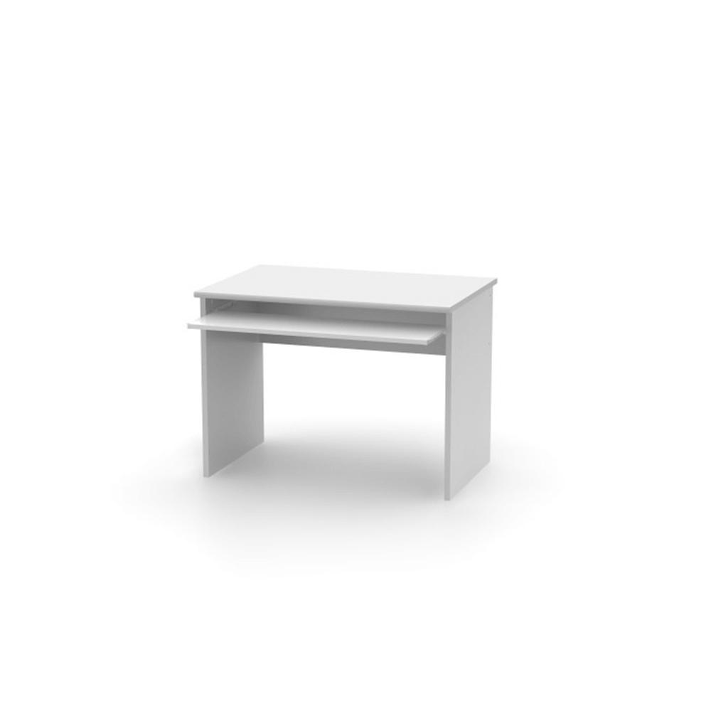Íróasztal, fehér, JOHAN 2 NEW 02