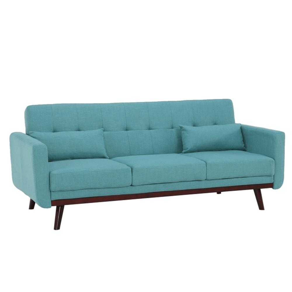 Kinyitható kanapé, türkiz, ARKADIA