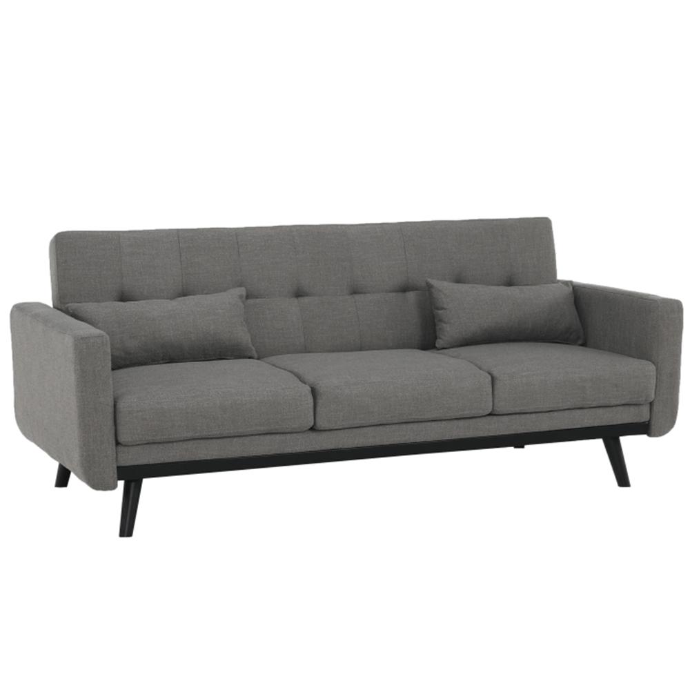 Kinyitható kanapé, szürke, ARKADIA