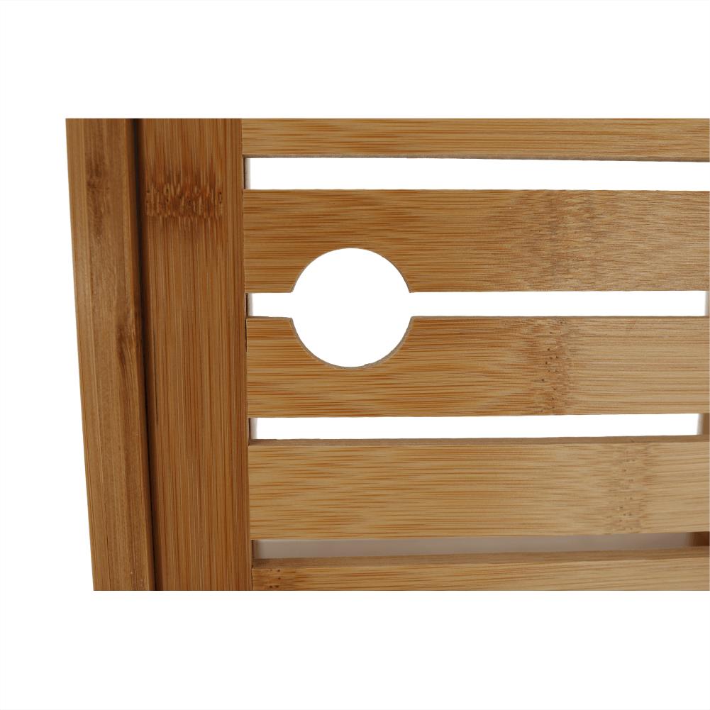 Polcos állvány, természetes bambusz, SELENE TYP 1