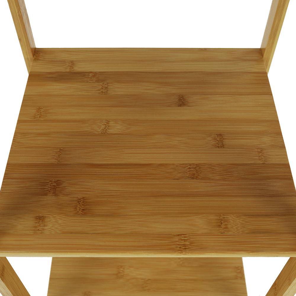 Polcos állvány, természetes bambusz, SELENE TYP 2