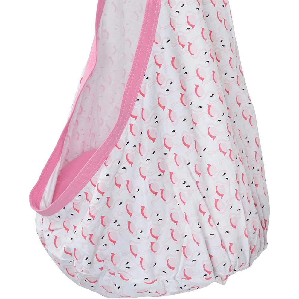 Függőhinta, rózsaszín/flamingó minta, SIESTA TYP 2