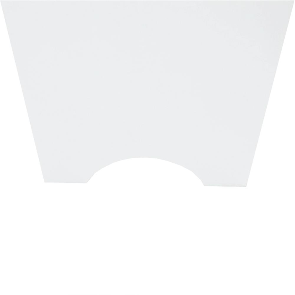 Szekrény a WC fölé, fehér, ATENE TYP 5