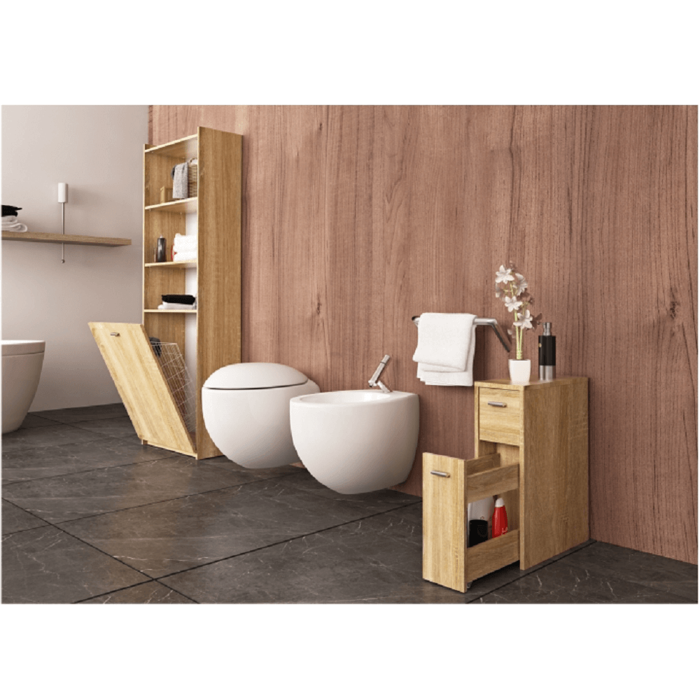 Fürdőszoba szekrény, sonoma tölgy, NATALI TYP 7