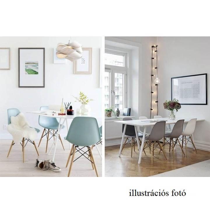 Modern szék, bükk+ fekete, CINKLA3 NEW