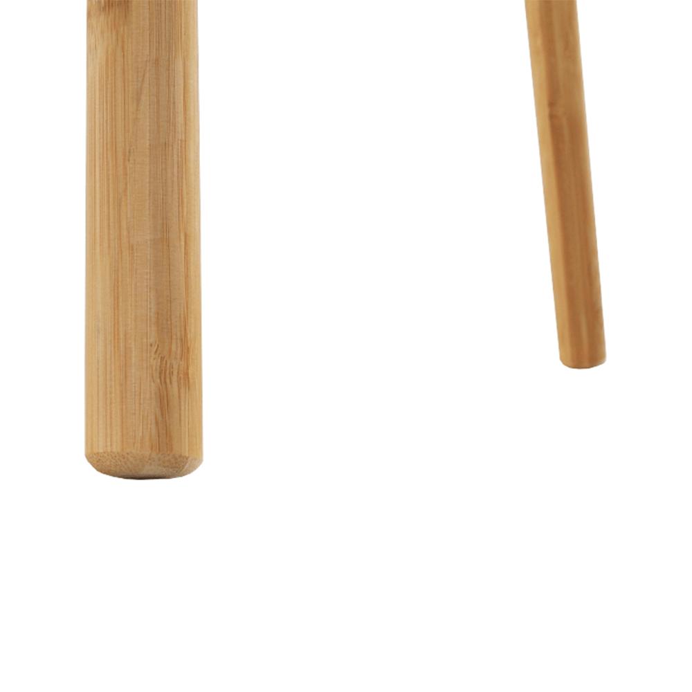 Két dohányzóasztal szett, fehér/természetes, BISMAK