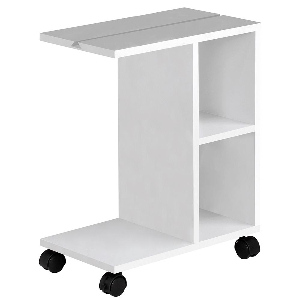 kisasztal, fehér, NIDEN
