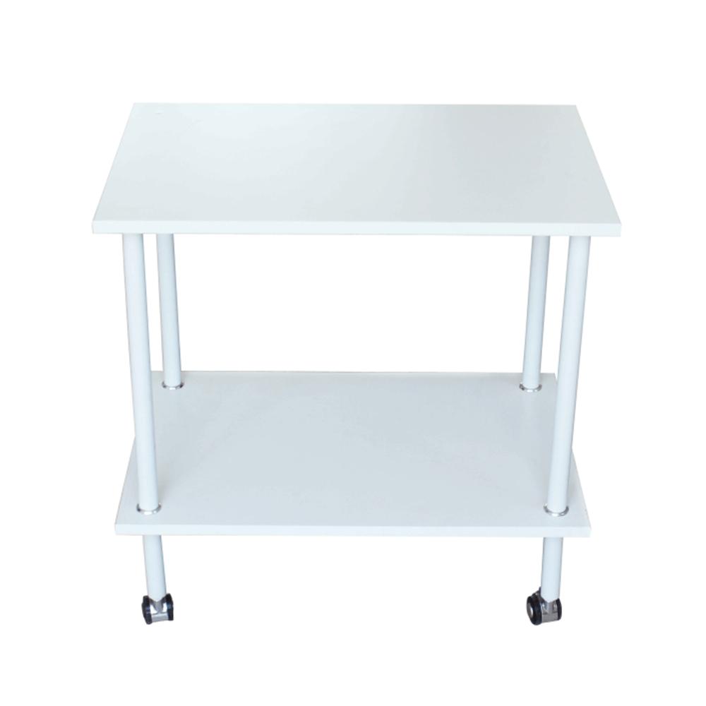 Kisasztal, matt fehér, LABON