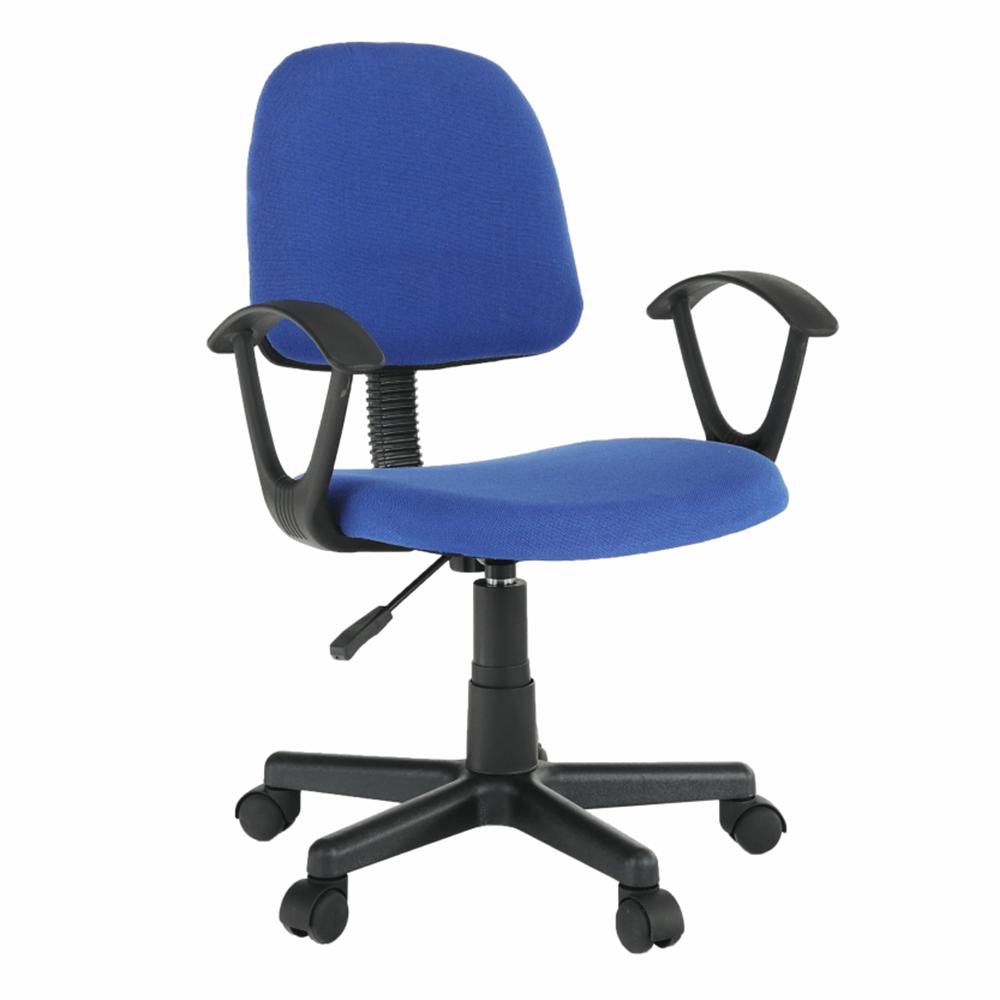 Irodai szék, kék/fekete, TAMSON