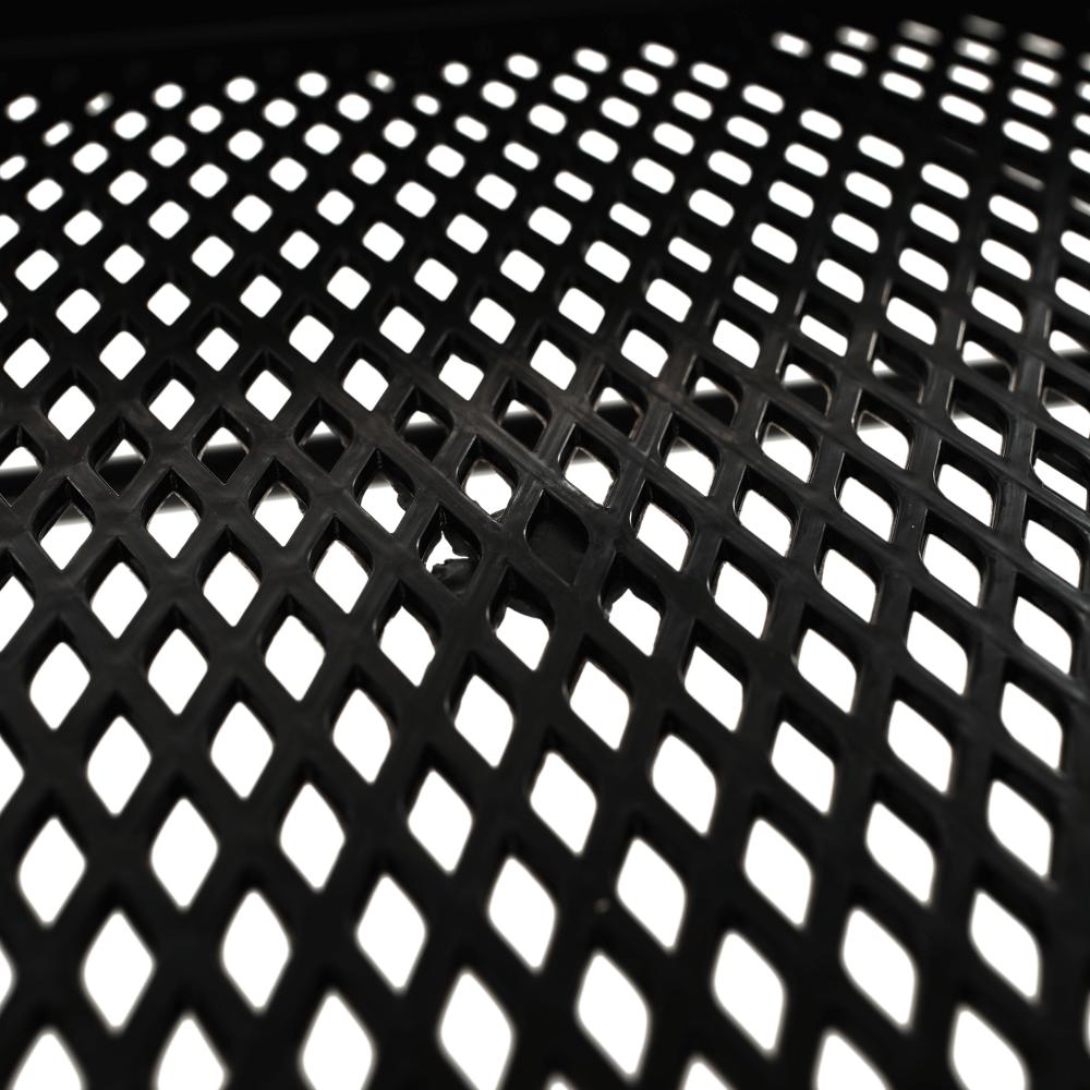 Mozgatható polcállvány, fekete, VERNON
