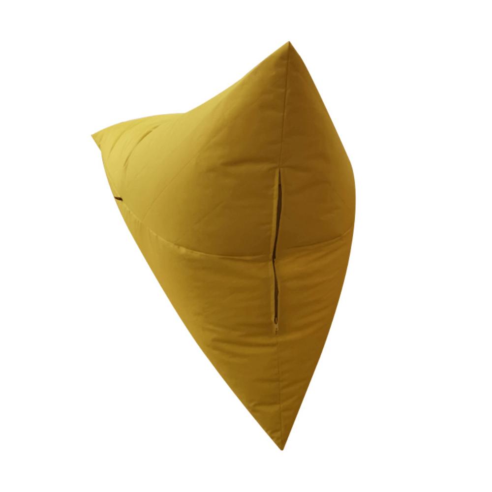 Babzsák, mustár színű anyag, VETOK