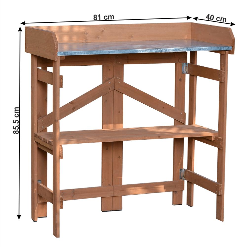 Kerti asztal, égerfa, ELSIRO