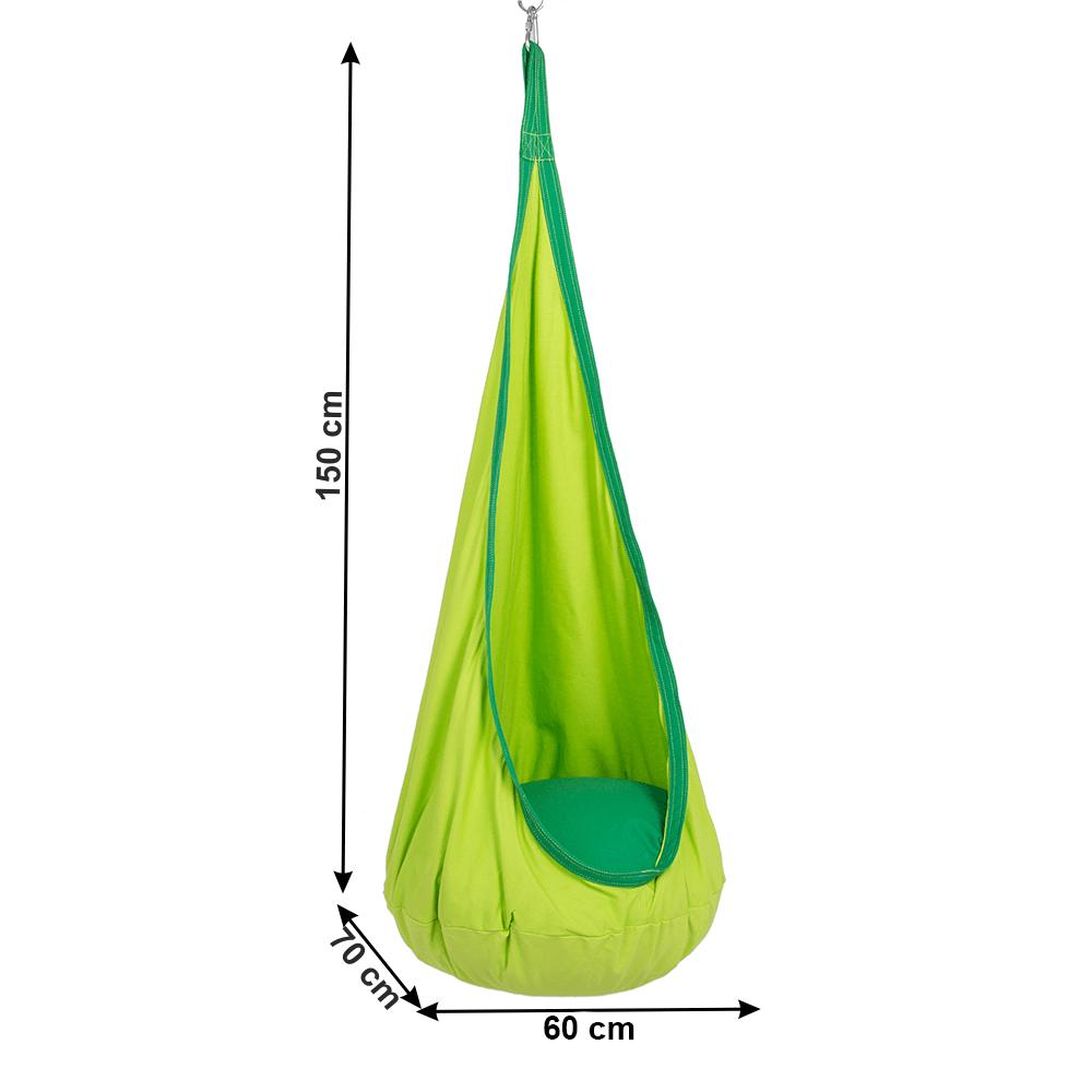 Függőhinta, zöld, SIESTA TYP 1