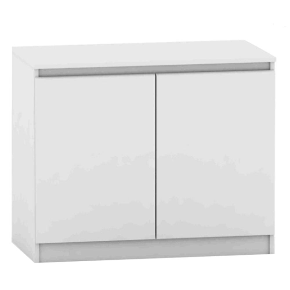 2 ajtós komód, fehér, HANY NEW 008