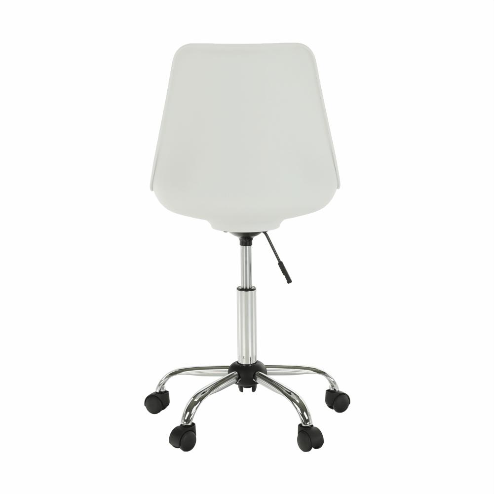 Irodai szék, fehér/szürke, DARISA NEW