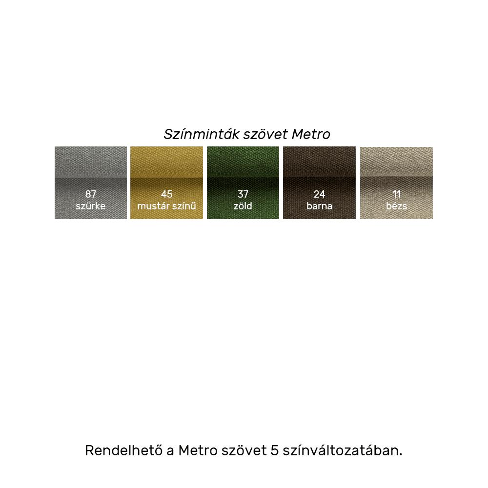 Univerzális ülőgarnitúra, mentol színű, DEVLIN