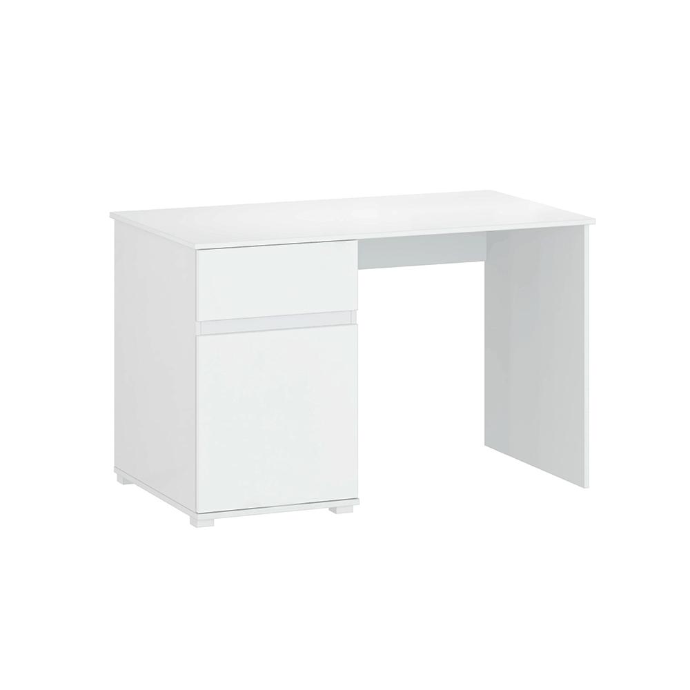 Számítógépasztal 1D1S/120, fehér fényes, LINDY