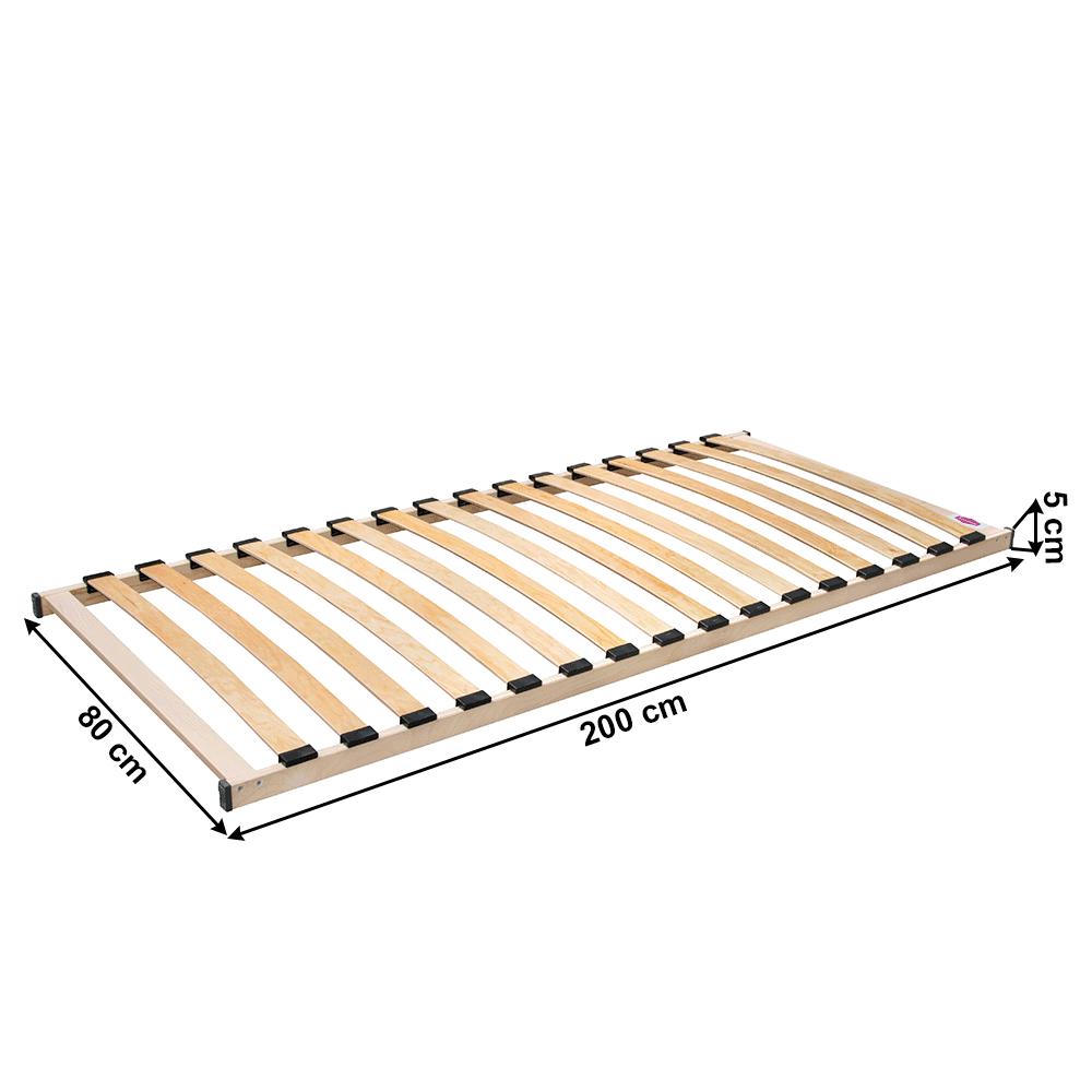 Ágyrács, 80x200 cm, MONNA NEW
