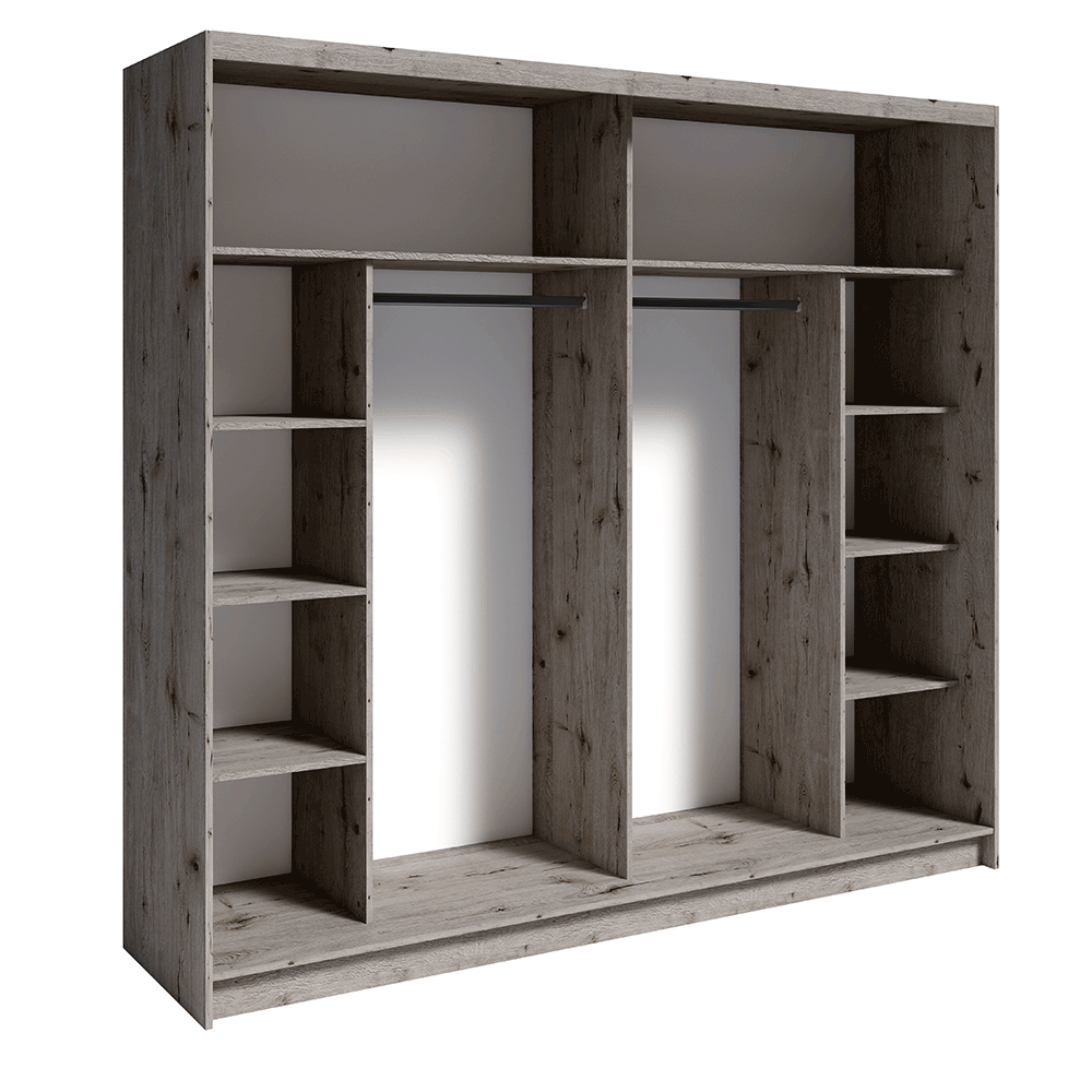 2- ajtós szekrény, tölgy welington, TOGOS